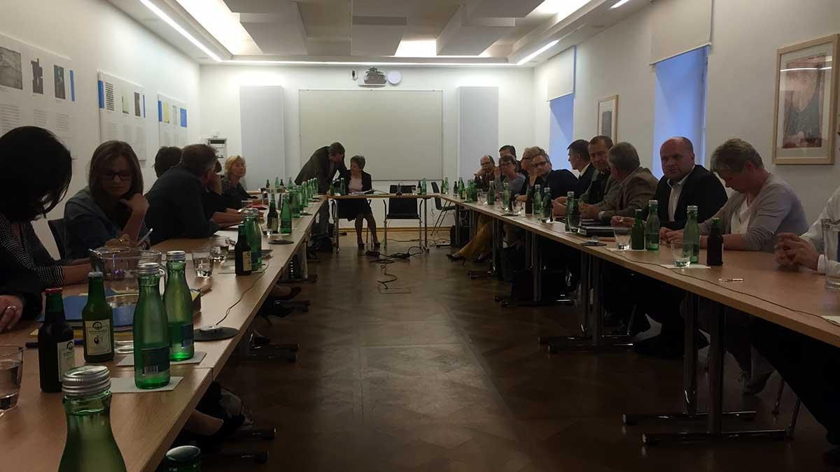 Gemeinderatssitzung 27. April 2015