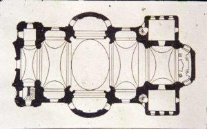 Grundriss der Basilika am Weizberg