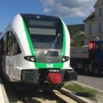 Zug der Steiermarkbahn in Weiz