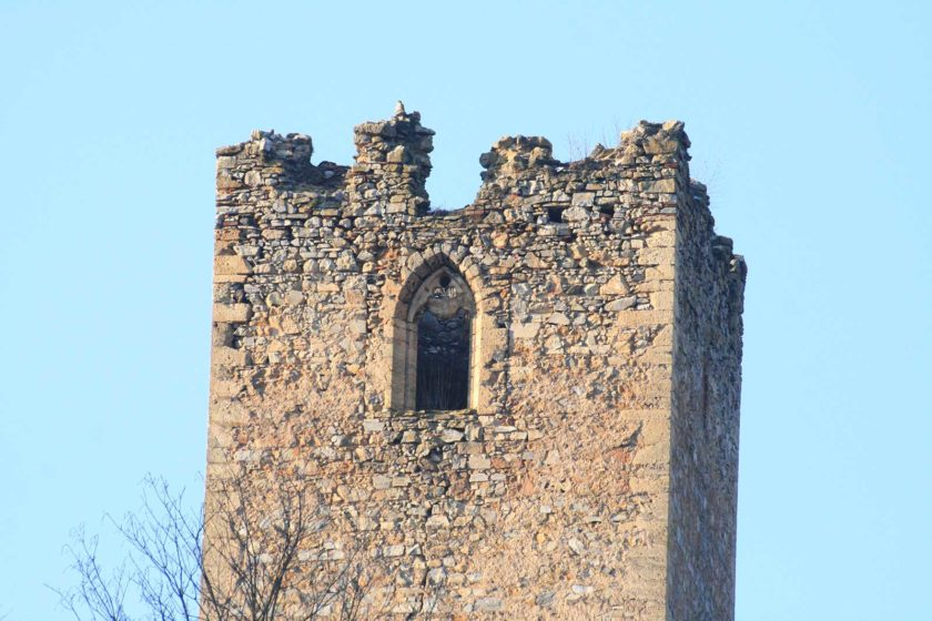 Burgfried Ruine Sturmberg